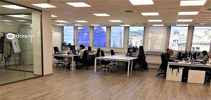 DonPiso se expande en Barcelona: amplía en 200 metros cuadrados sus oficinas de la Diagonal