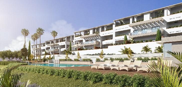 Habitat invertirá 27 millones de euros en levantar 91 viviendas en Barcelona y la Costa del Sol