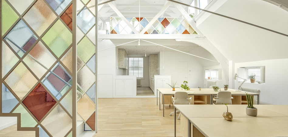 Una iglesia reconvertida en un 'coworking'