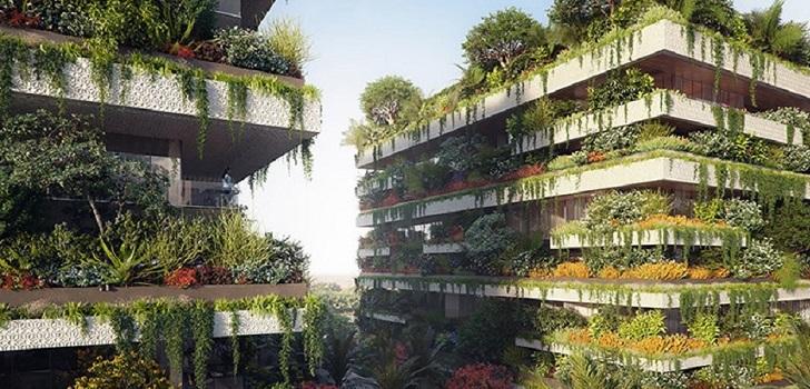 Un jardín vertical para vivir