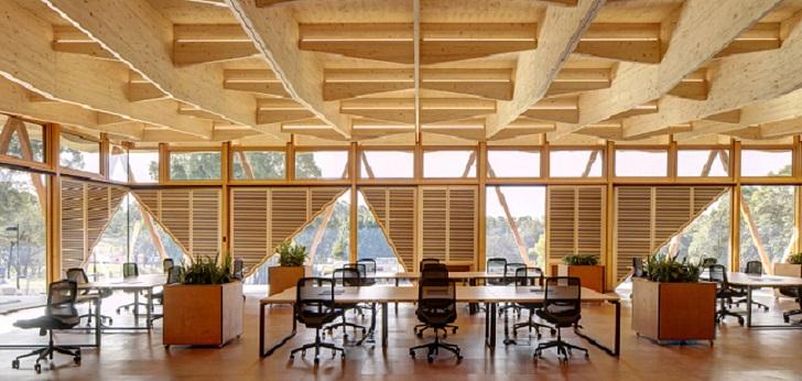 Una incubadora modular y de madera